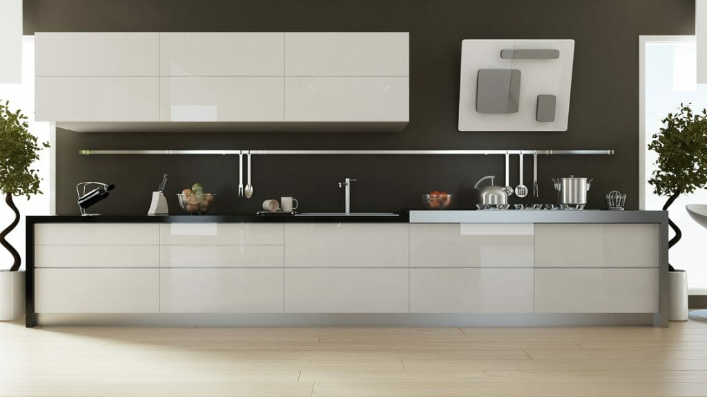 Cocina Moderna Modelo Gloss 3