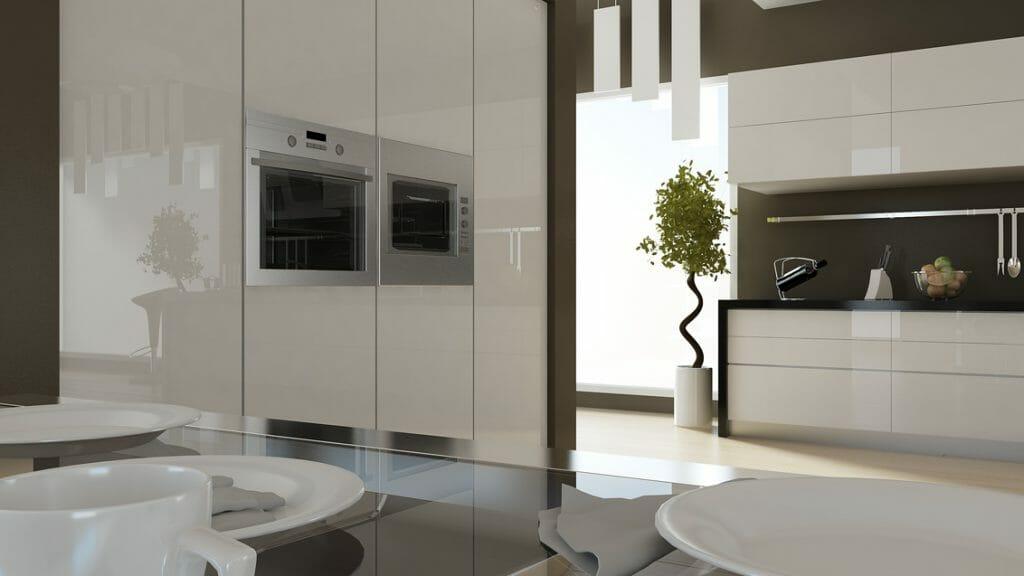 Cocina Moderna Modelo Gloss 4