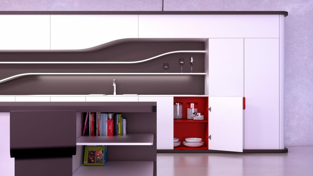 Cocina moderna modelo Smart 2