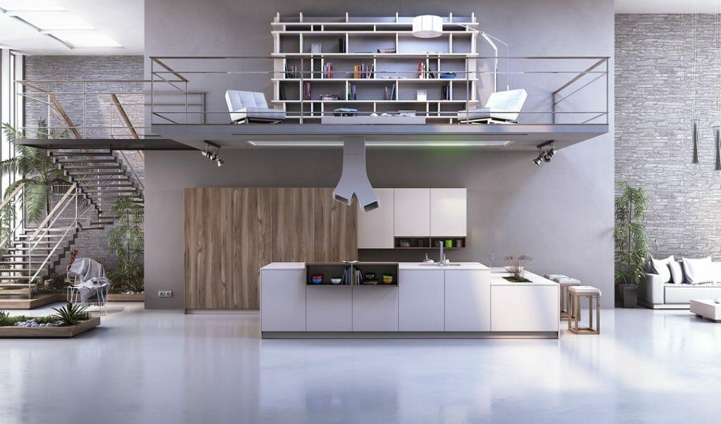 Cocinas Modernas Modelos Hábitat y Gourmet